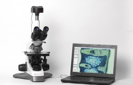 Mikroskops ar kameru