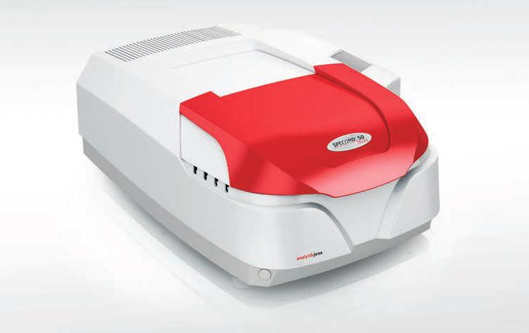 UV-VIS spektrofotometrs SPECORD Plus