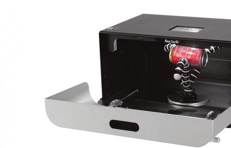 Anti-Stokes pulveru identificēšana IR gaismā Crime-lite