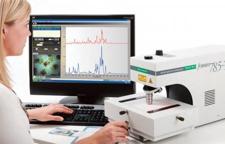 Raman spektrometrs Foram3
